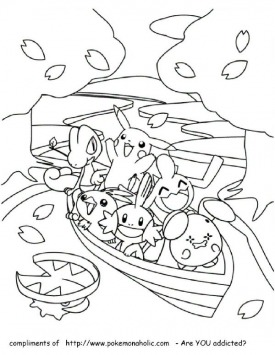 Coloring Pages Free Pokemon