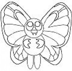 ITS BUTTERFREEIT IS A BUG POKEMON